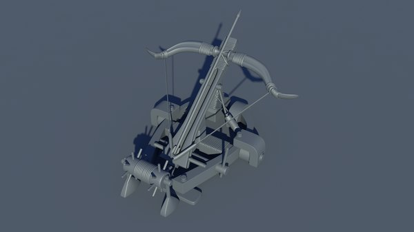 arkbalista crossbow 3D
