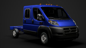 ram promaster cargo chassis model