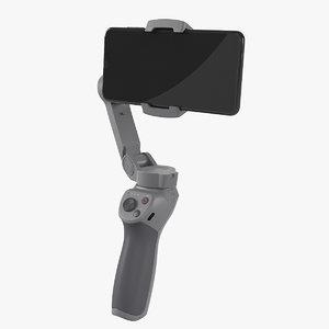 dji osmo mobile 3 3D