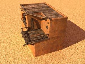3D arabian house model