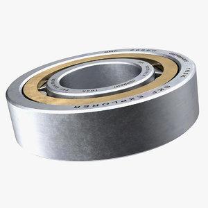 cylindrical roller bearing 3D model