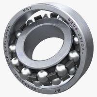 3D model self aligning bearing