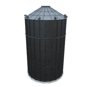 silo grain 3D