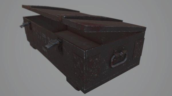 ussr box metal 3D model