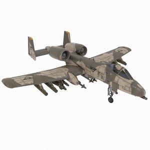raf air 3D model