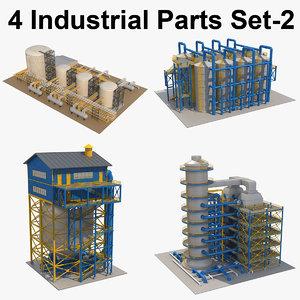 3D model 4 industrial 2