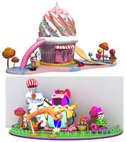 Collection of Candy Houses