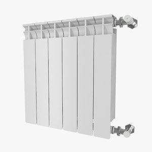 3D radiator pack