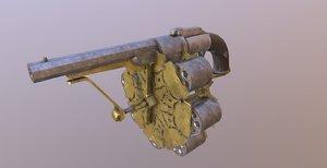 joseph 48 shot revolver 3D