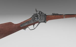 1867 sharps 3D model