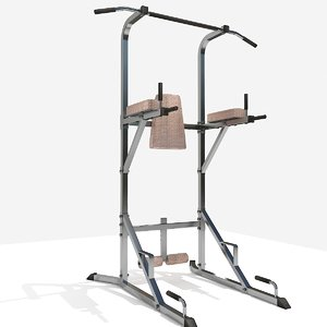 3D chinning bar
