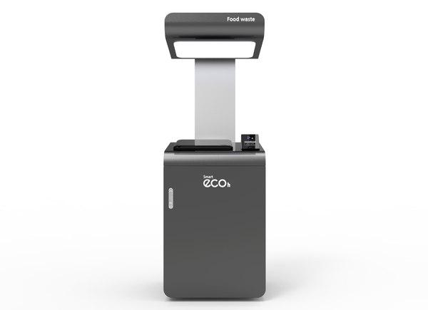 food waste individual weighing 3D