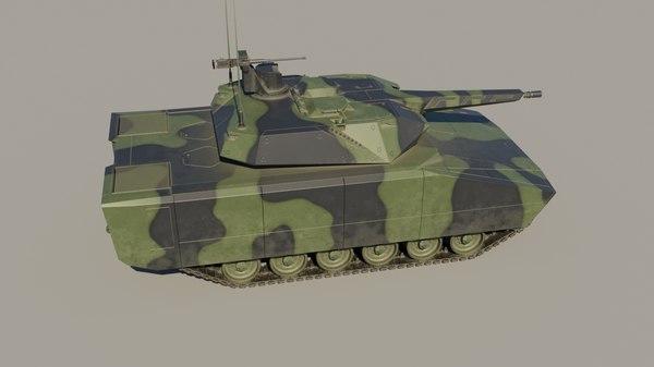 lynx kf41 fighting vehicle 3D