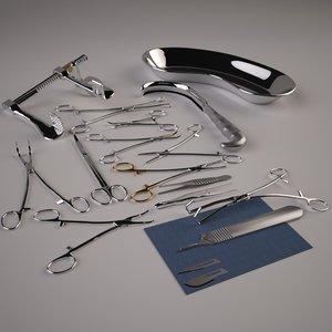 medical tools model