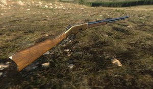 1866 winchester 3D model