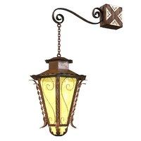 decorative lantern 3D