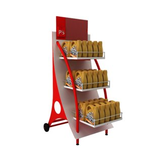 3D model oil stand