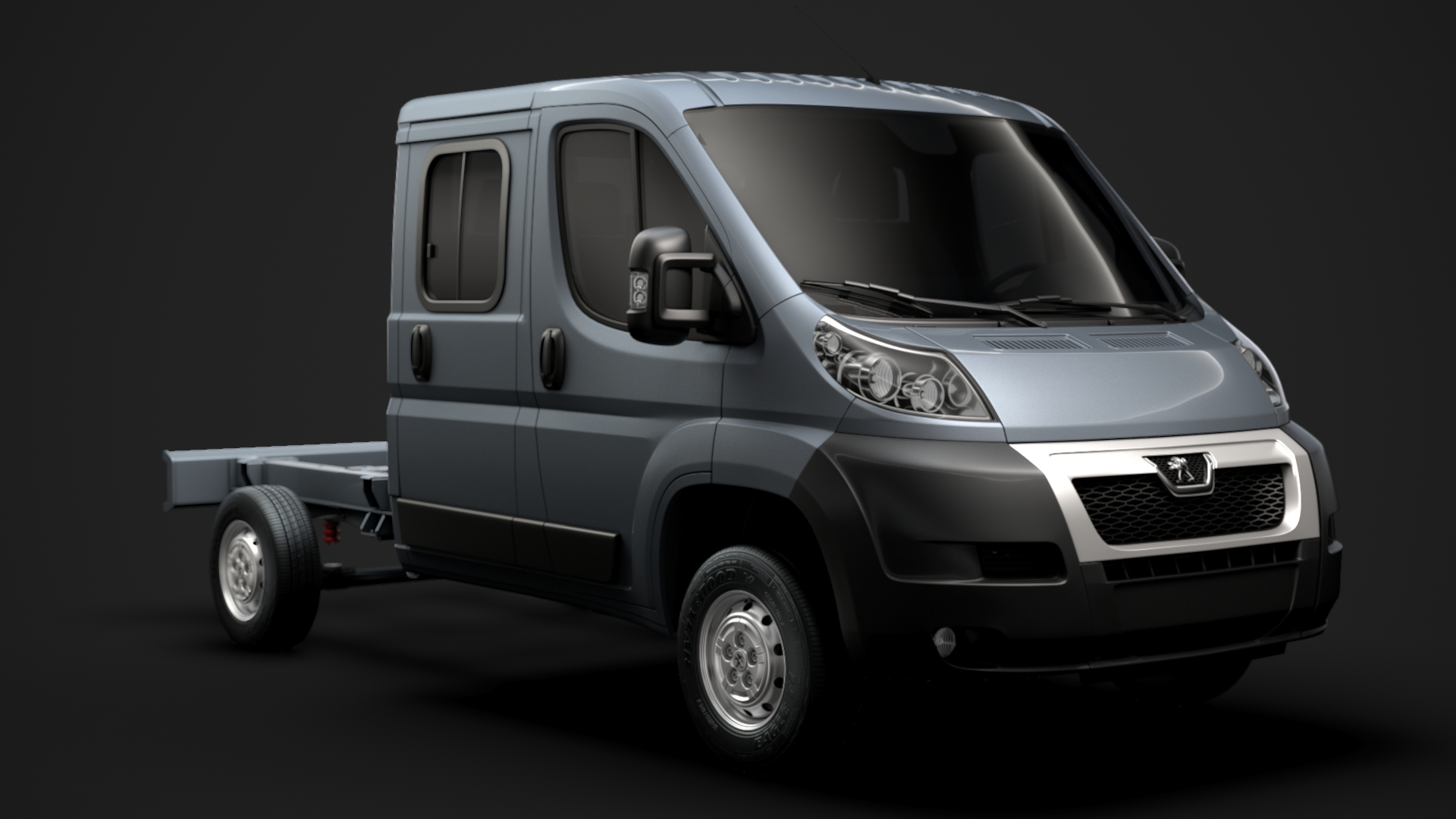 peugeot boxer manager chassis model