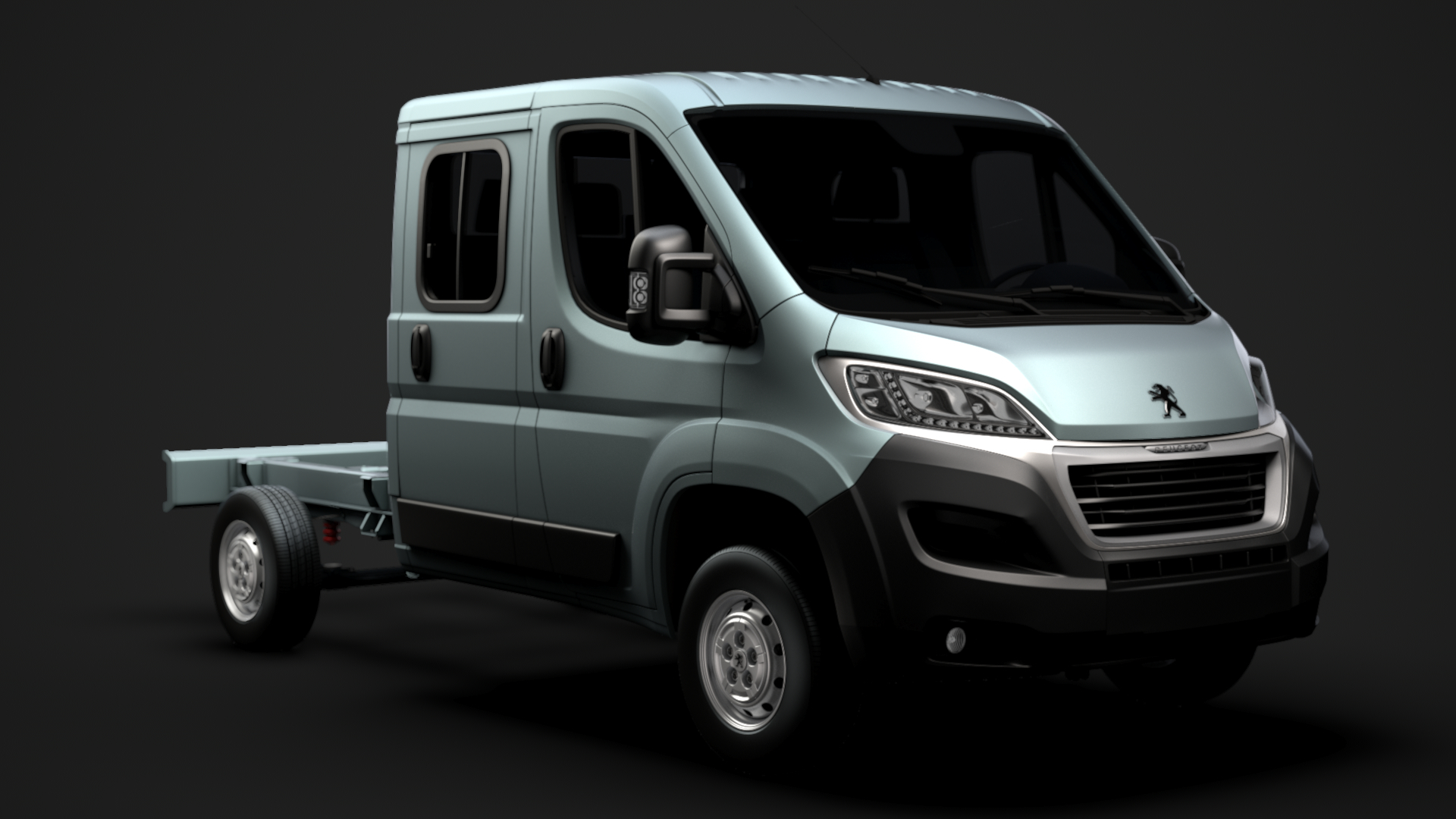peugeot boxer manager chassis 3D