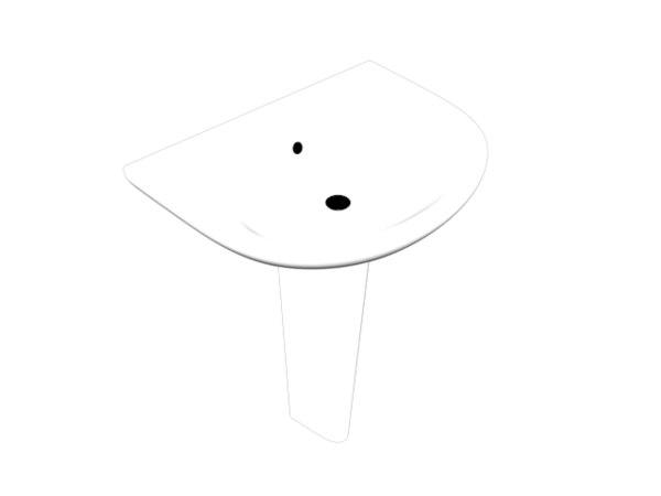 bath basin 3D model