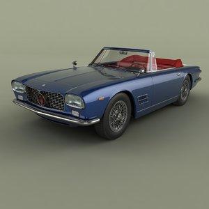 3D 1961 maserati 5000 gt model