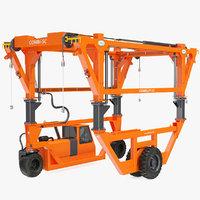 combi-sc straddle carrier clean 3D