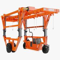 straddle carrier combilift sc 3D