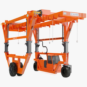 straddle carrier combilift sc 3D