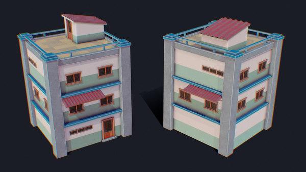 3D house color h model