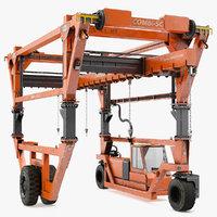 3D combi-sc range straddle carrier model
