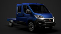 fiat ducato chassis truck 3D model