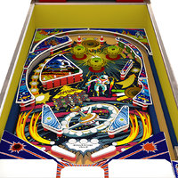 future world pinball zaccaria 3D model