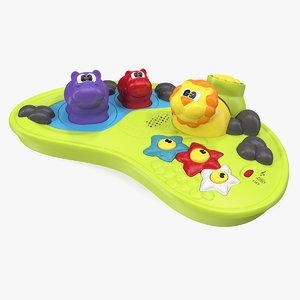 board toys 3D model