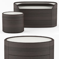 3D chest drawers kelly bedside model