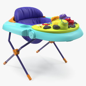 3D baby seat toys