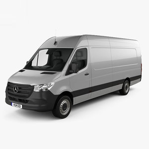 3D model mercedes-benz sprinter panel