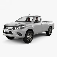 toyota hilux single 3D
