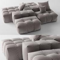 3D saba italia pixel sofa