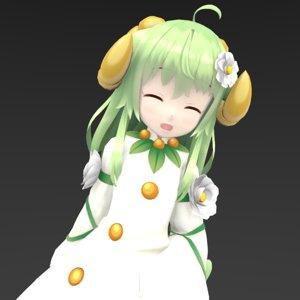 3D fairy child girl