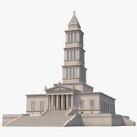 3D george washington masonic national