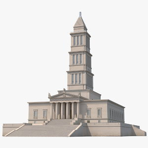 3D george washington masonic national