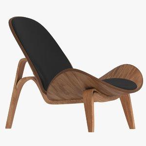 shell chair 3D