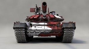 main battle tank biathlon 3D