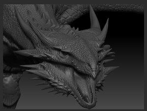 wyvern 3D model