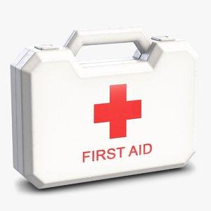 aid kit 3 3D model