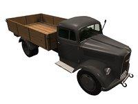 Opel blitz German WWII truck
