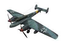 3D fighter messerschmitt bf