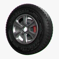 Wheel T70 Lima Caucho