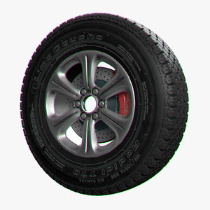t70 wheel 3D