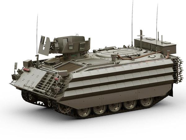 fv432 bulldog 3D model